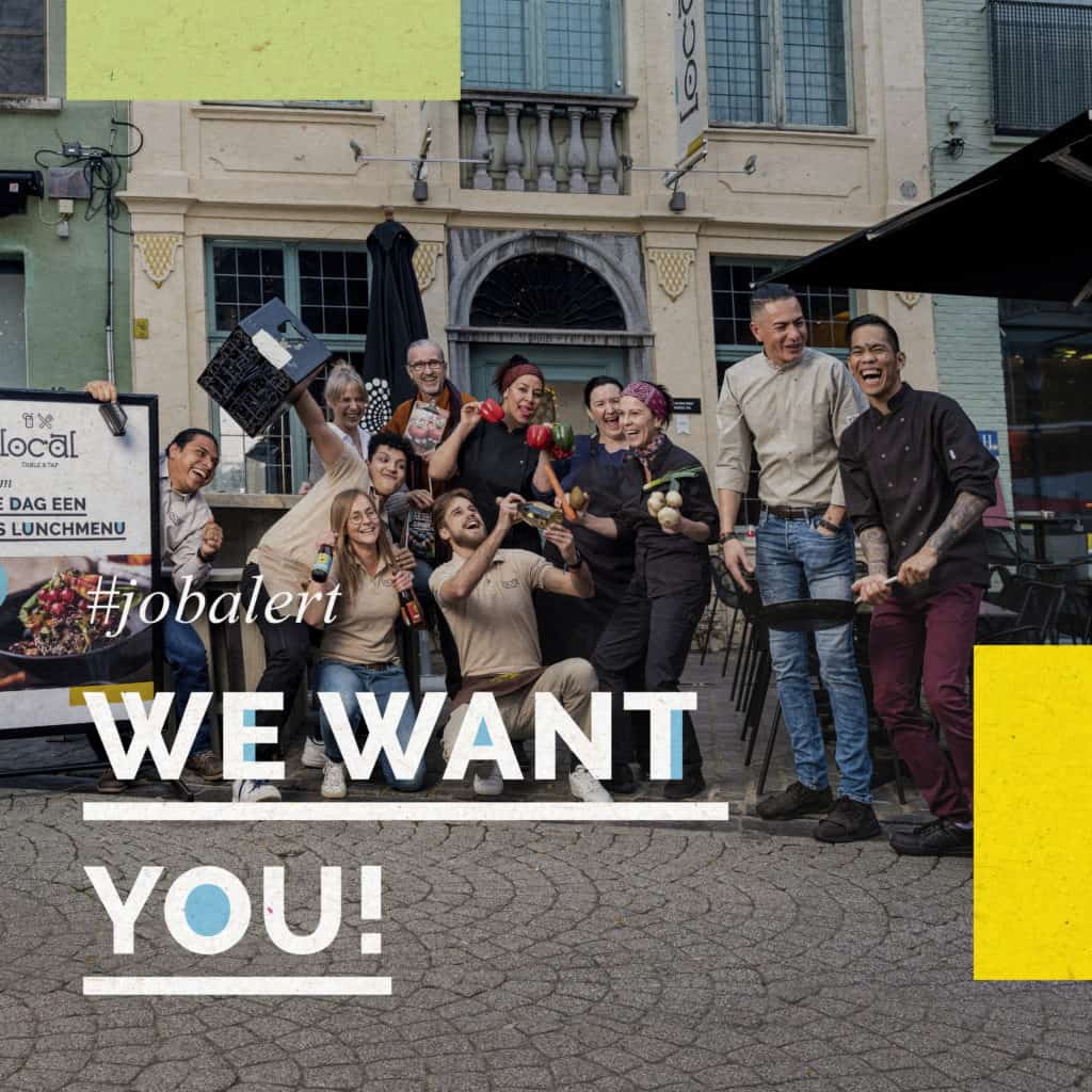 #jobalert - we want you - Local Table&Tap zoekt medewerker