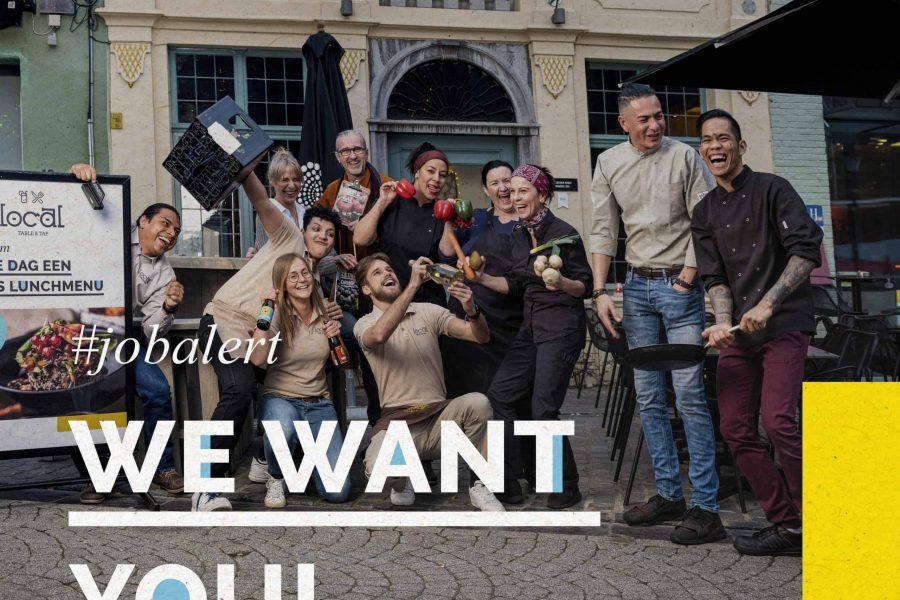 #jobalert - we want you - Local Table&Tap zoekt medewerker